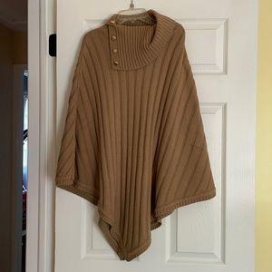NWOT Michael Kors sweater poncho!